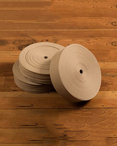 NaturalAreaRugs Cotton Binding Carpet Tape, 164' Roll - 4 3/4