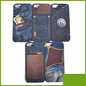 QYF Special Design Jeans Case for iPhone5/5S , 5