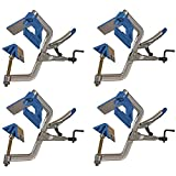 Kreg KHC-90DCC Self-Squaring 90-Degree Large I-Handle Corner Clamps, 4-Pack