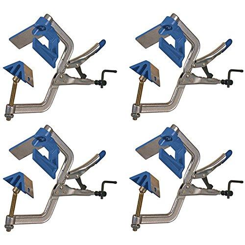 Kreg KHC-90DCC Self-Squaring 90-Degree Large I-Handle Corner Clamps, 4-Pack