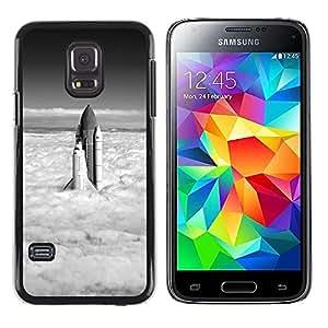 Exotic-Star ( Rocket ) Fundas Cover Cubre Hard Case Cover para Samsung Galaxy S5 Mini / Samsung Galaxy S5 Mini Duos / SM-G800 !!!NOT S5 REGULAR!
