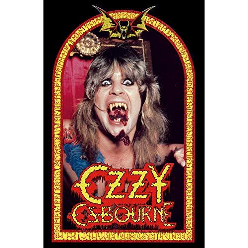 Ozzy Osbourne Fabric Poster Flag - Speak of The Devil ()