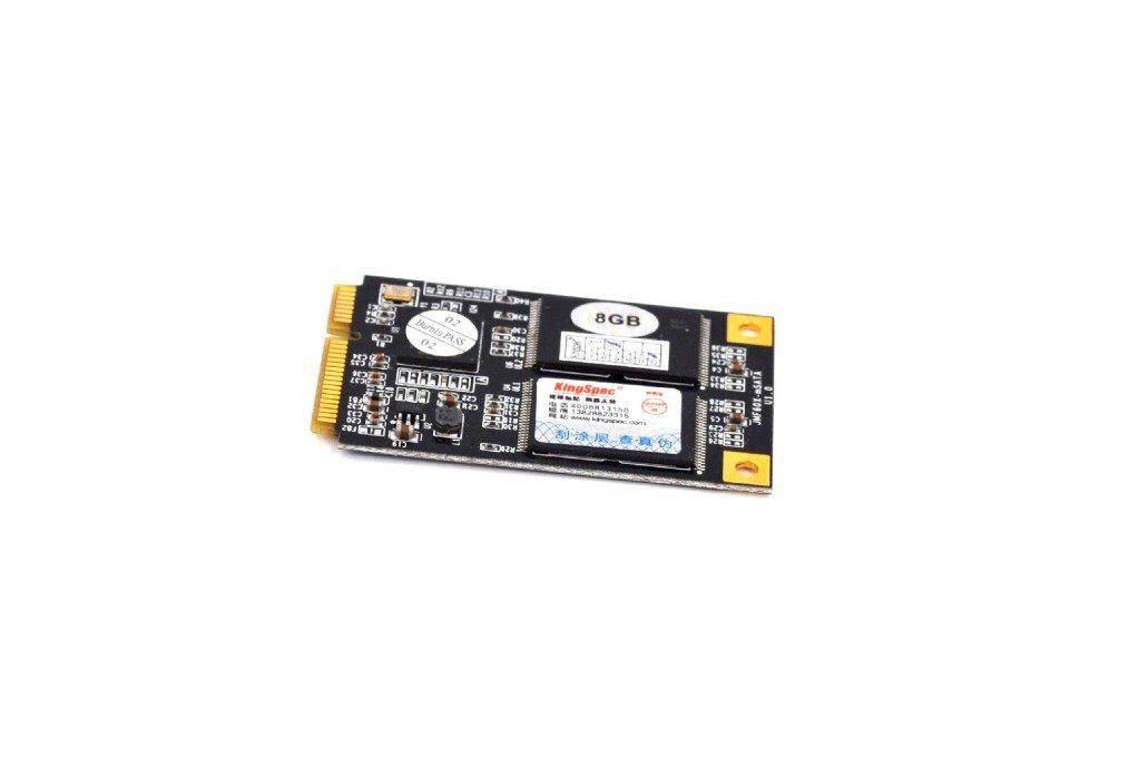 KingSpec - Disco duro SSD (Mini PCI Express, SATA, 8 GB, MLC, 3 x ...