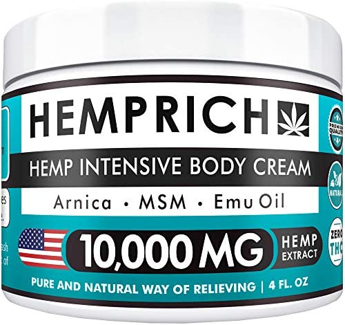 Hemp Extract Pain Relief Cream product image