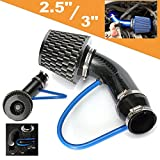 3 inch cold air intake pipe - Soosee Universal Performance Induction Cold Air Intake Filter Alumimum Pipe HOSE System Black