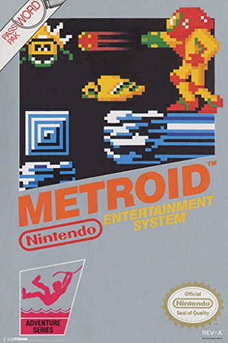 Pyramid America Metroid Nintendo Science Fiction Action Adve
