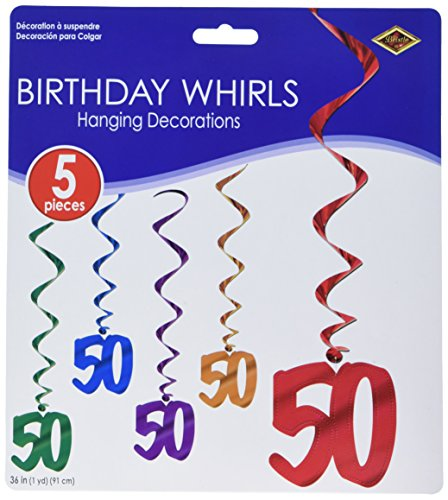 50 Whirls (asstd colors)    (5/Pkg)