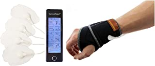 HealthmateForever 10 Modes Personal Best électrique rechargeable numérique Pulse Massager tactile Impulse écran Bleu