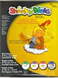 Shrinky Dinks Shrinkable Plastic Refill Paper Pack of 10 Frosted Sheets 8 x 10