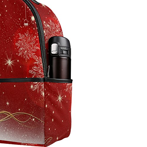 Dos de Toile Cadeau BeiBao cinétique achats Noël de à Neige Sac éclair Sac de Flocon Fermeture Multi extérieur de en école Voyage de Sac nnxUWPEgr