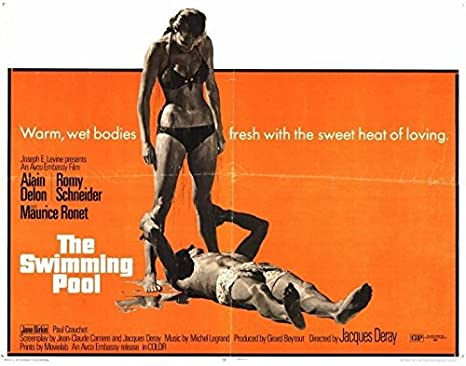 Amazon.com: 22 x 28 The Swimming Pool Movie Poster: Posters ...