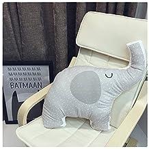 Cartoon Baby Crawling Mat Children Play Mat Kids Floor Rug Rectangle Yoga Mat 145*195 CM (Elephant Pillow)