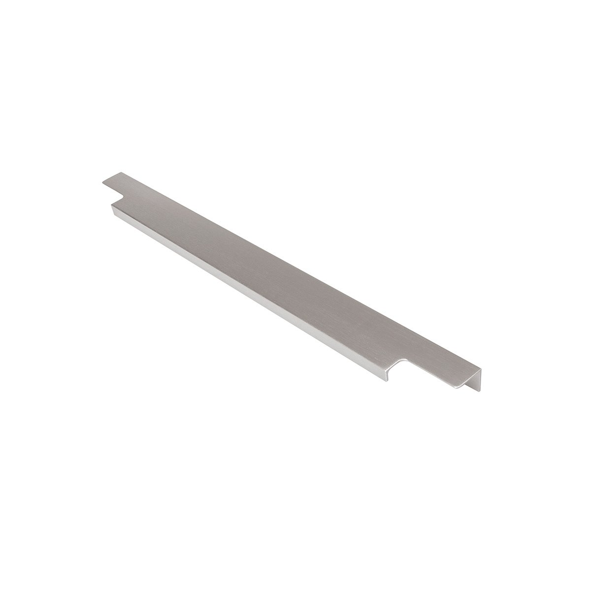 Hickory Hardware C02H075746-AL Austere Lip Pull Aluminum Finish, Sold in Pairs Austere Lip Pull Finish, Sold in Pairs