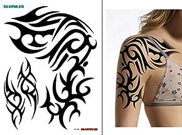 Tatouage Pc006 Temporaire Pour L Epaule Et La Partie Superieure Du