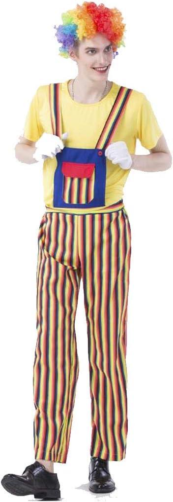 HZH Disfraz de Cosplay de Payaso de Circo navideño, Que Incluye ...