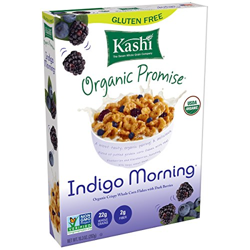 Kashi Indigo Morning Organic Corn Cereal, 10.3 Ounce 51uRSkJ0YRL