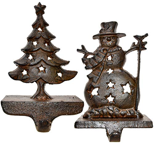 Gift Boutique Iron Stocking Holders for Christmas -