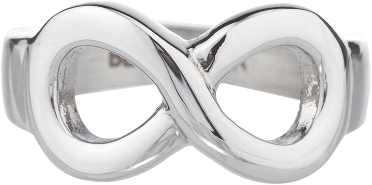 High Polished Stainless Steel Infinity Best Sister Ring Gifts for Sister Sisters Jewelry for Women