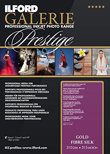 Ilford Galerie Fine Art - ILFORD 2004003 GALERIE Prestige Gold Fibre Silk - 8.5 x 11 Inches, 25 Sheets