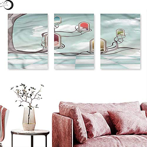 J Chief Sky Magical Wall Decoration Mirrors Over Tree Triptych Art Set W 20