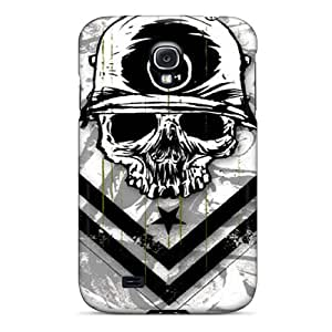 Shock Absorbent Hard Phone Cover For Samsung Galaxy S4 (WOw10725nllR) Support Personal Customs Nice Metal Mulisha Skin