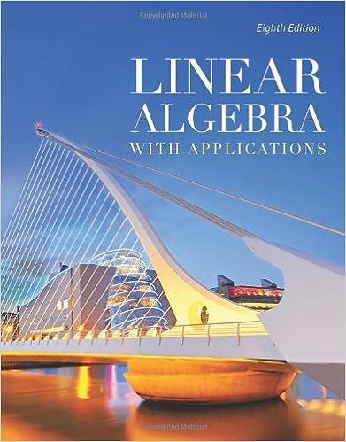 Linear Algebra With Applications (The Jones & Bartlett Learning ...