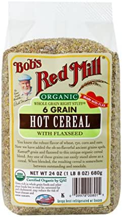 Oatmeal: Bob's Red Mill 6 Grain