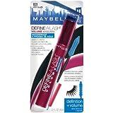 (Pack 2) Maybelline Define-A-Lash Waterproof Volume Mascara, Very Black #831