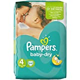 Pampers Baby Dry Nappies Size 4 Essential Pack 44 per pack