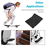 Gonex 44 x 10 1/4 Inchh Skateboard Grip Tape Sheet, Bubble Free Scooter Griptape Sandpaper with Multiple Colors for Skate Longboard Rollerboard Stairs Pedal, Marble
