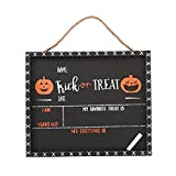 Mud Pie Halloween Chalkboard Set for Personalization