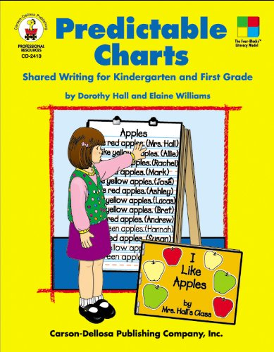 Predictable Charts, Grades K - 1: Shared Writing for Kindergarten and First Grade (Four-Blocks Literacy Model) -