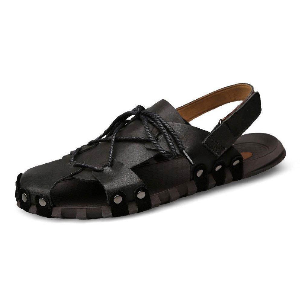 Sandalias para Hombre Sandalias Sandalias Sandalias De Uso Doble 42 EU Black