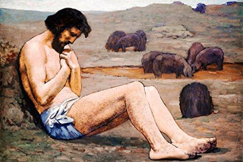 ArtParisienne The Prodigal Son by Pierre Puvis de Chavannes Wall Decal, 48