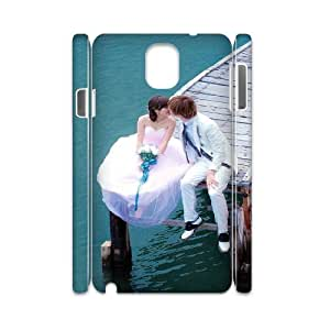 3D Okaycosama Funny Samsung Galaxy Note 3 Case Love 52 for Girls Protective, Case for Samsung Galaxy Note 3, [White]