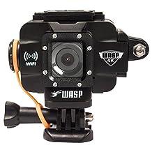 WASP 9907 4K Action-Sports Camera, Black
