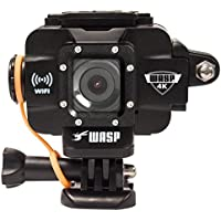 WASPcam 4K 9907 Action-Sports Camera, Black