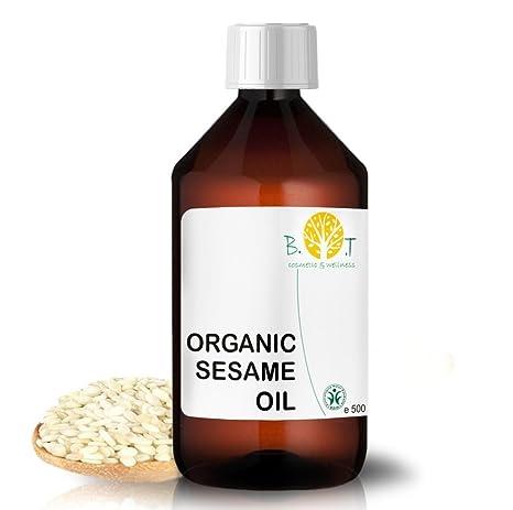 B.O.T Cosmetic & Wellness Aceite de Sésamo BIO (500 ...