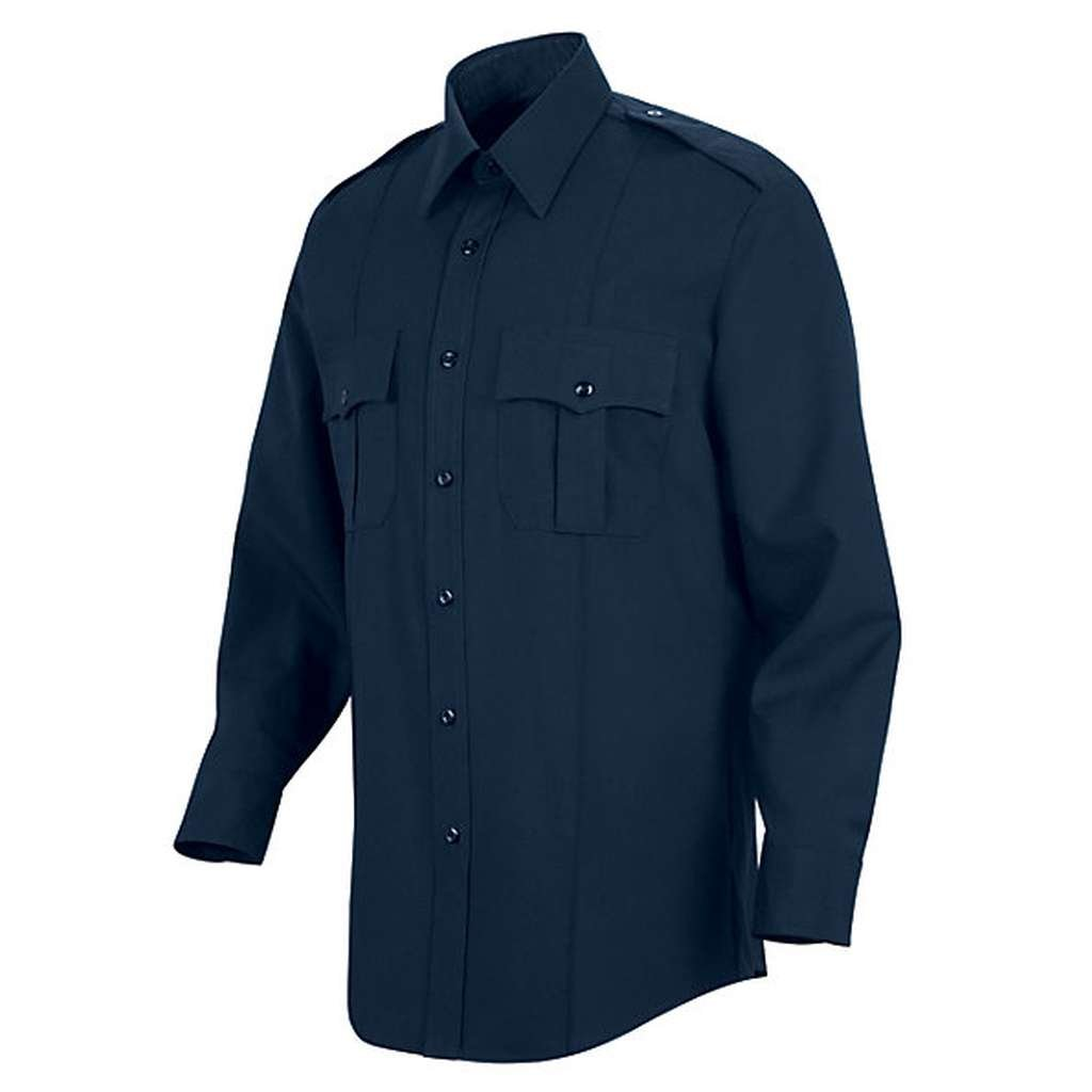 16532 Horace Small New Generation Stretch Shirt Dark Navy