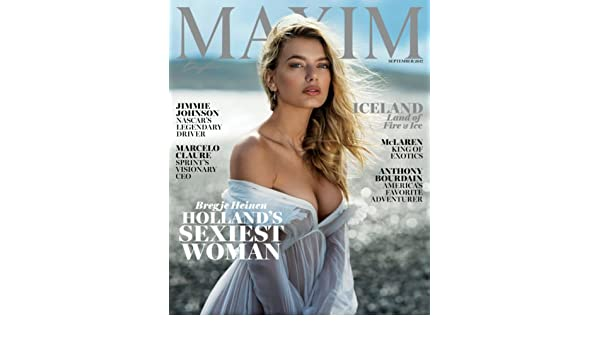 036c2e524a15 Maxim Magazine (September, 2017) Bregje Heinen Cover Single Issue Magazine  – 2017