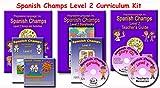 Spanish Champs Level 2 curriculum kit