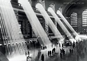 Amazon.com: Grand Central Station-Vintage Black and White
