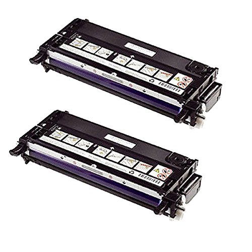 Xerox 113R00726 Remanufactured High Capacity Black Laser Toner Cartridge for Phaser 6180 -2PK
