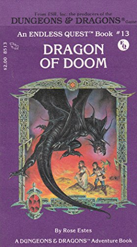 Dragon of Doom (Dungeons & Dragons: Adventure) (Rose Dragon)