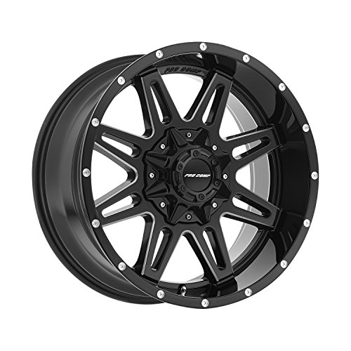 Pro Comp Wheels 8142-29582 Xtreme Alloys Series 8142 Gloss Black/Machined Finish Size 20x9.5 Bolt Pattern 8x6.5 in. Back Space 4.75 in. Offset -6 Max Load 3650 ()