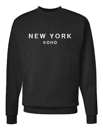 Signature NYC Men's Crewneck Sweatshirt kJB8ESjTU