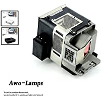 AWO VLT-HC3800LP Replacement Lamp with Housing Fit For MITSUBISHI HC3200/HC3200U/HC3800/HC3800U/HC3900/HC4000/HC4000U/HC77-10S/HC77-11S