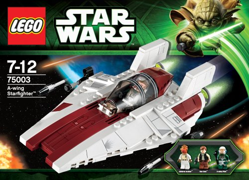 LEGO Star Wars 75003: A-Wing Starfighter: Amazon.co.uk: Toys & Games