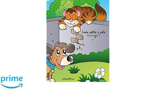 Lindos gatitos y gatos libro para colorear 4 (Volume 4) (Spanish Edition): Nick Snels: 9781723268670: Amazon.com: Books
