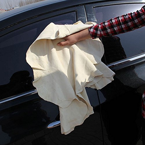 JUJU MALL-1x Chamois Leather Car Cleaning Cloth Washing Suede Absorbent Water Towel - Vegas Las Premium Mall
